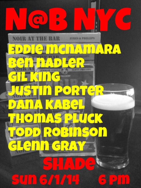 noir at the bar flyer